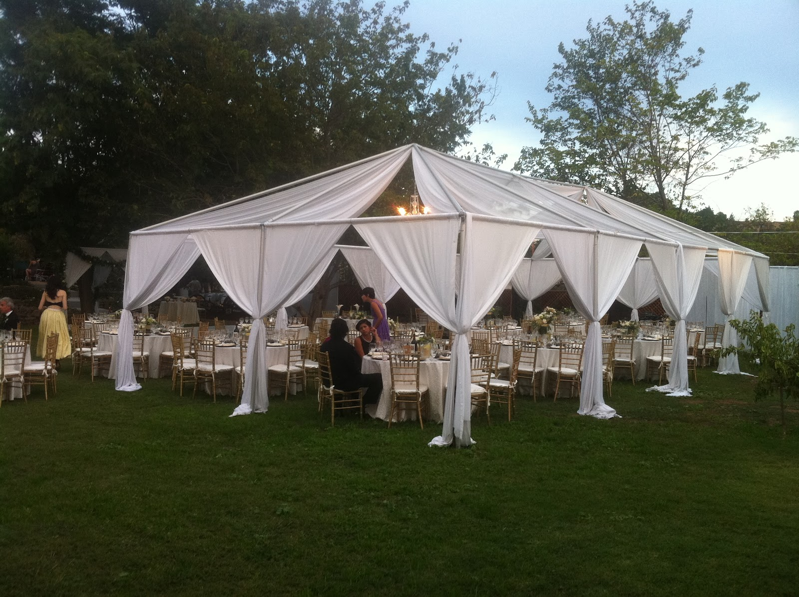 Star Event Productions Beautiful Tent Frame Draping With