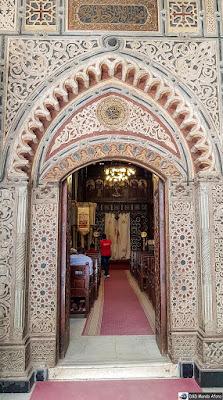 Igreja no Cairo Copta
