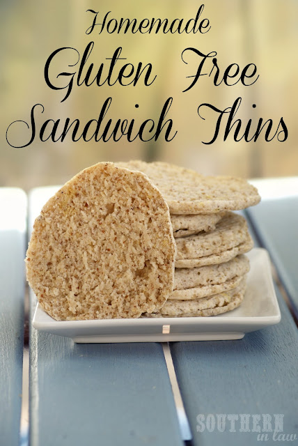 Gluten Free Homemade Sandwich Thins - Flaxseed Sunflower Seed