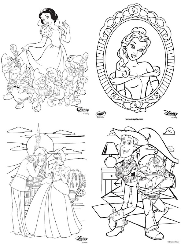 Disney Channel Character Coloring Pages
