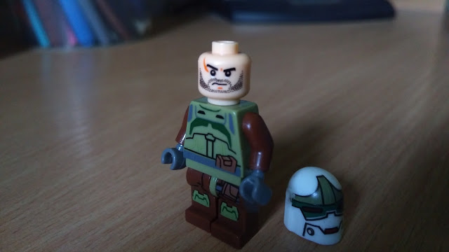 Охотник за головами Рако Хардин фигурка лего купить