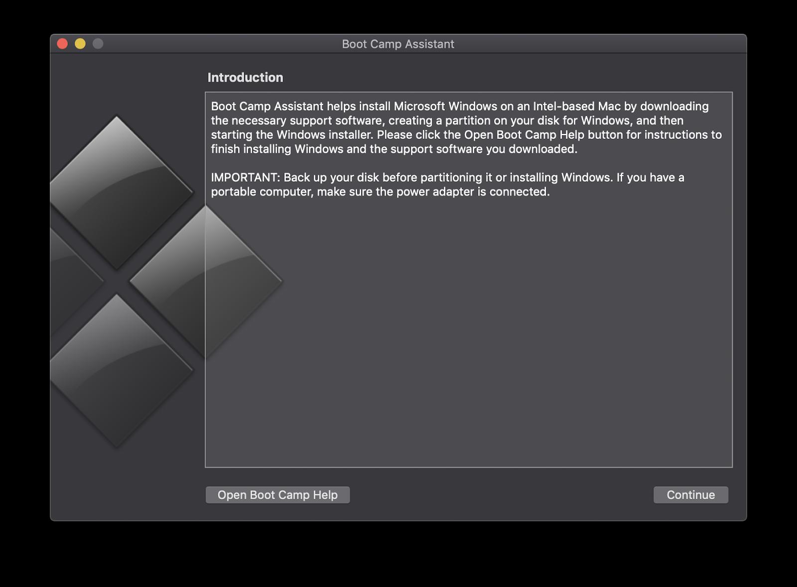 Come installare Windows su Mac