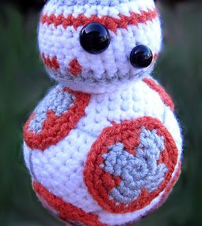 Robot BB-8 amigurumi tejido en crochet