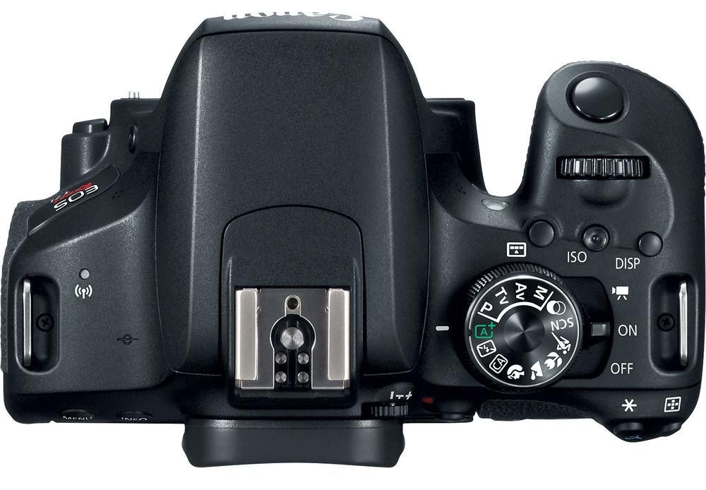 Canon EOS 800D, вид сверху