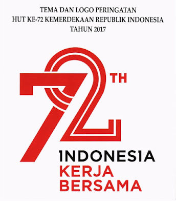 Logo dan Tema HUT RI Ke - 72 Tahun 2017