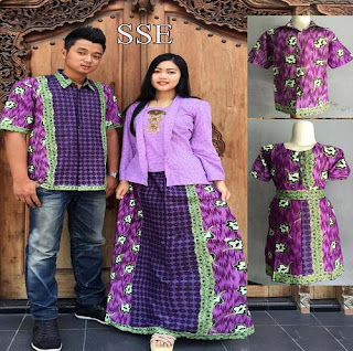 Model Baju Batik Couple Anak Remaja
