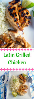 Summer's BEST:  Latin Grilled Chicken - Your go to marinade for the rest of the summer is Latin in flavor and packs a huge punch! Slice of Southern
