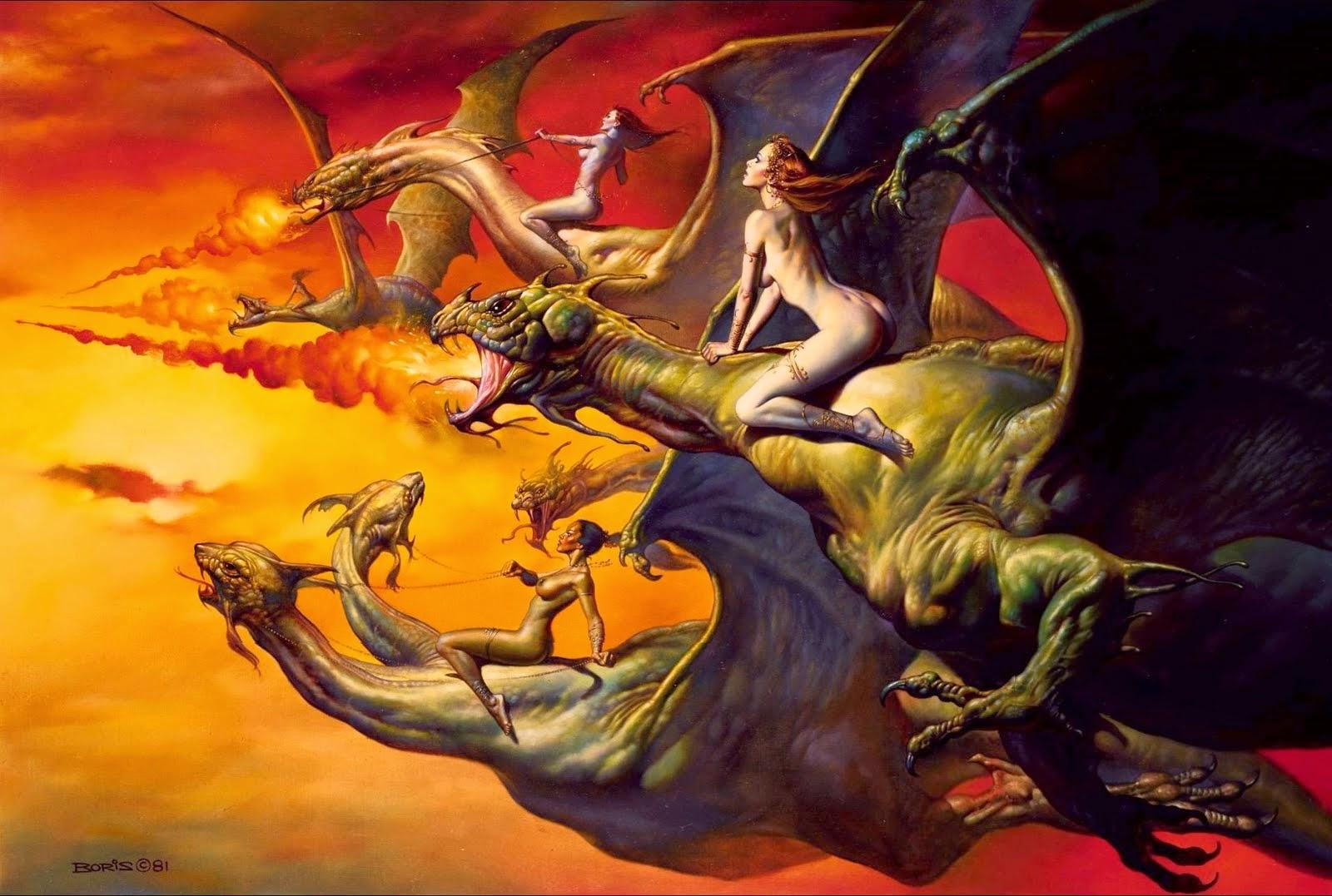 Busca - Obras de Boris Vallejo ~ O rei no campo da fantasia