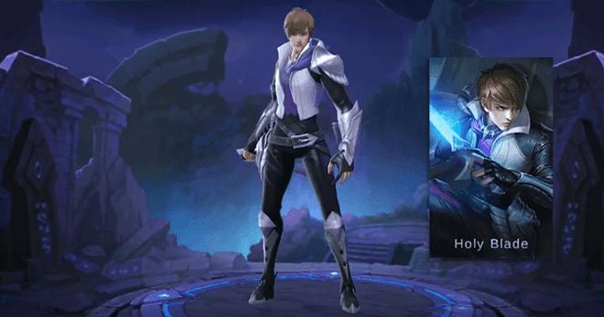 New Hero Gossen Holy Blade Mobile Legends