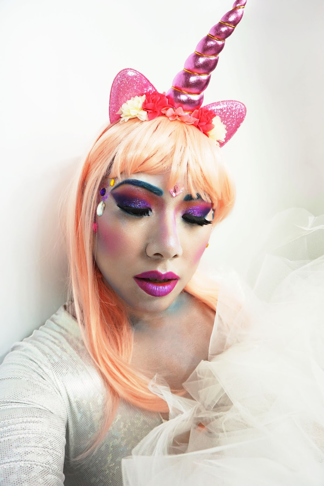 Halloween Makeup - Unicorn