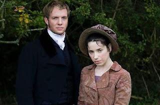 El Capitán Wentworth y Anne Elliot [en la adaptación de la BBC de 2007]
