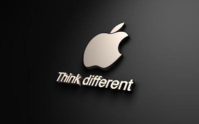 think different apple HD wallpaper
