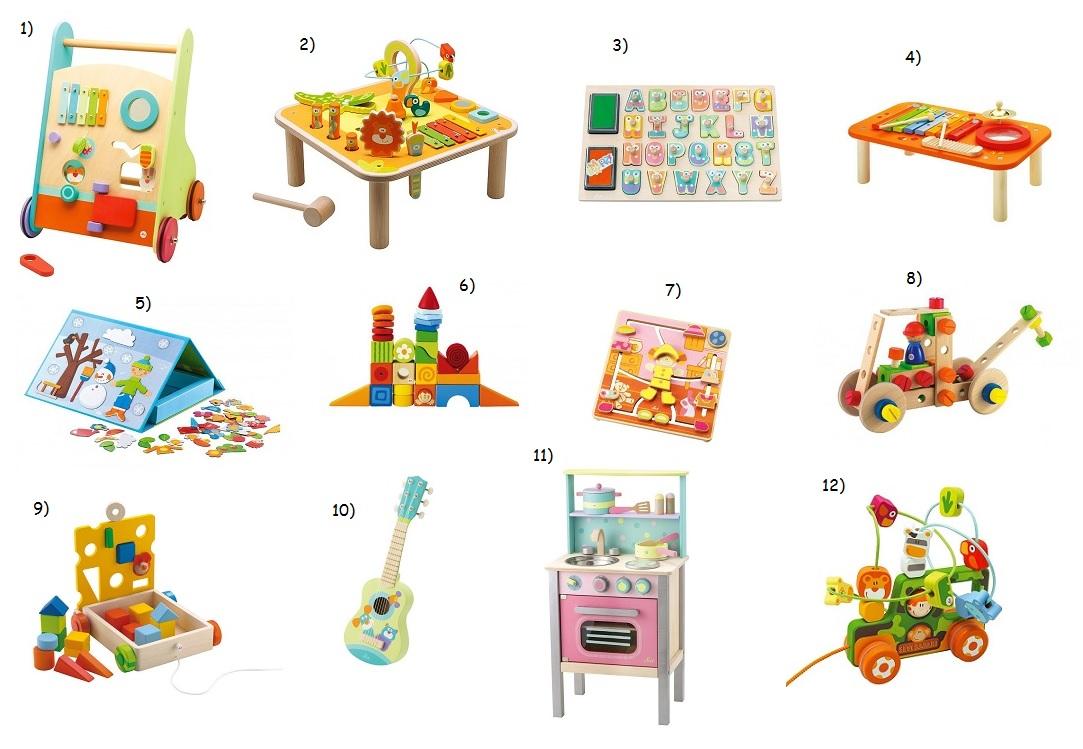 drewniane zabawki dla dzieci sevi