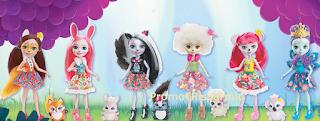 Logo Colleziona e vinci 40 Playset ''Casa sull'albero Enchantimals bambola e cucciolo Panda''