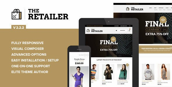 The Retailer v2.2.2 Responsive WordPress Theme