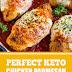 Perfect Keto Chicken Parmesan #keto #chicken