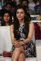Kyra Dutta in a Deep neck Small Dress at Shamanthakamani pre release function ~  Exclusive 079.JPG