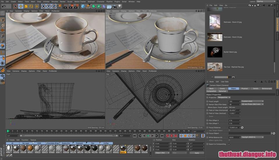 Download Maxon Cinema 4D R19.053 Full Cr@ck – Phần mềm đồ họa chuyển động 3D