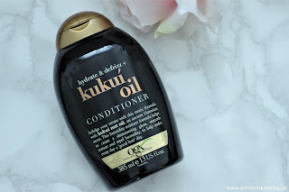 Review: Kukui Oil Conditioner - lecker duftend und so pflegend! - www.annitschkasblog.de