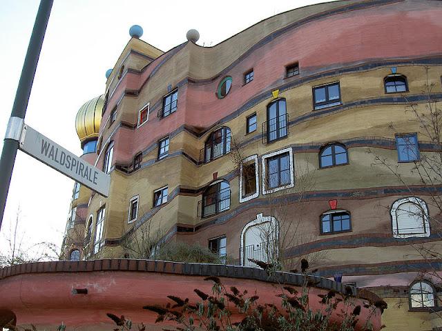 Waldspirale (Hundertwasser), Darmstadt, Alemanha