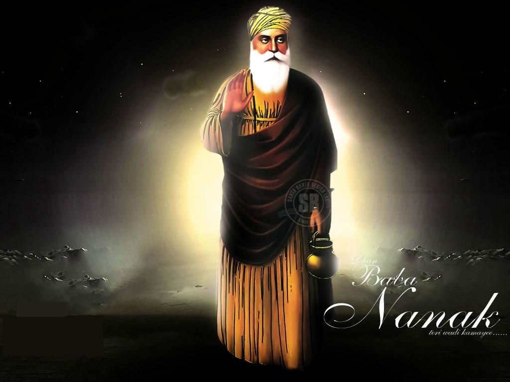 Happy guru nanak jayanti 2016 quotes wishes sms messages status wallpapers greetings - Guru nanak dev ji pics hd ...