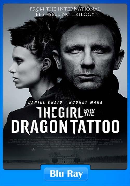 The Girl with the Dragon Tattoo 2011 720p BRRip Dual Audio Hindi English x264 | 480p 300MB | 100MB HEVC Poster