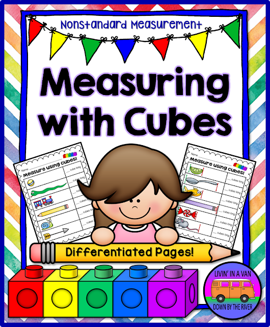 MEASURING WITH CUBES, NONSTANDARD MEASUREMENT
