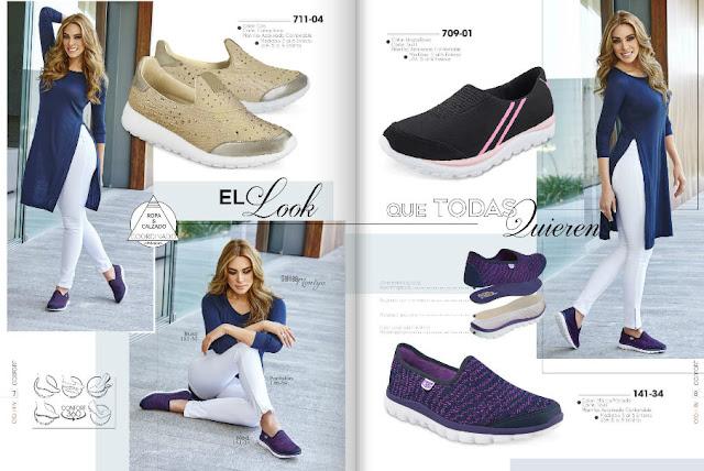 calzado confortable de moda
