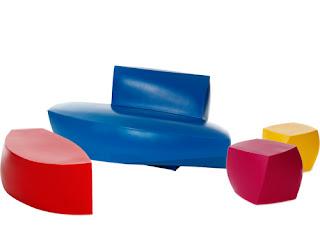 Colección Frank Gehry. Sillas, mesas, sofás