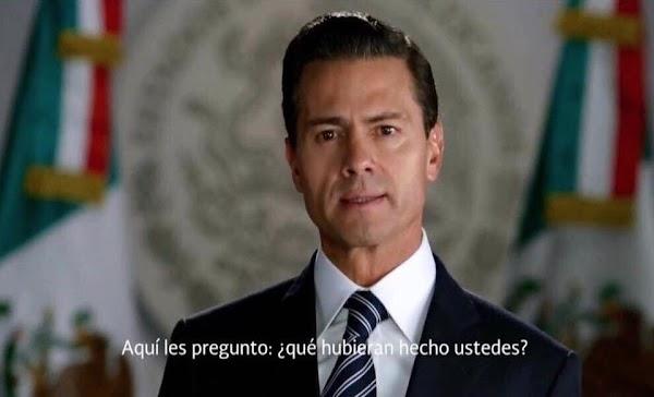 Con López Obrador la corrupción no disminuyó, dice Peña Nieto