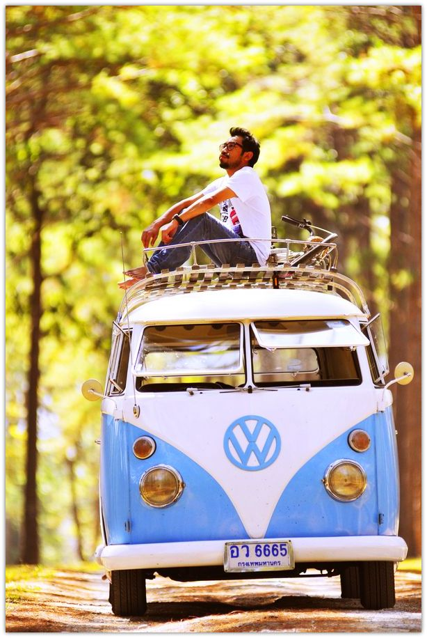 Ode to the Hippie Van {♡ ☮ }
