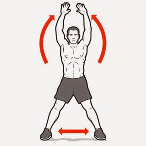 jumping jacks exercise calories burned