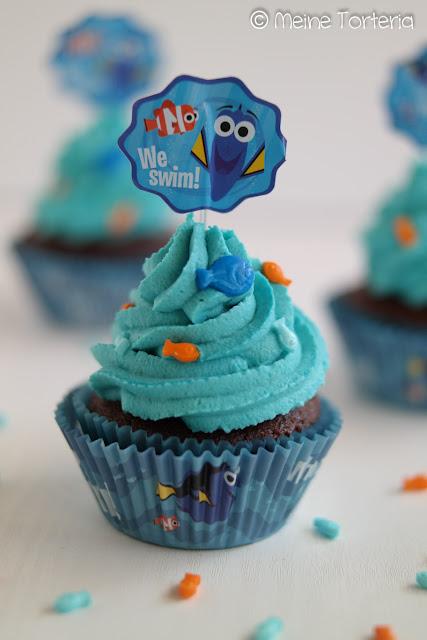 "Cupcakes ""Findet Dorie"""