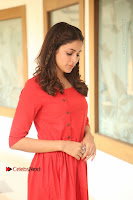 Actress Lavanya Tripathi Latest Pos in Red Dress at Radha Movie Success Meet .COM 0028.JPG