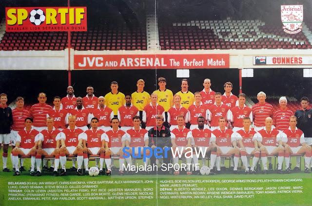Full Team Arsenal 1997