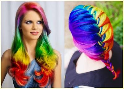Rainbow Bright Hair Color - 18 Best Hair Color Trend 2016