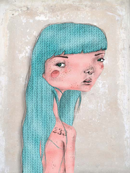Ilustración de Rebeca Pascua aka Lokutremola