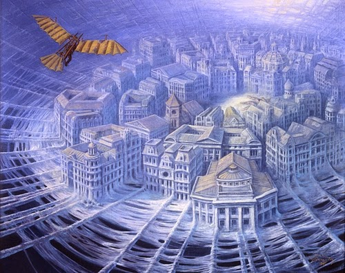 18-One-Flew-over-Spiders-Nest-Marcin-Kołpanowicz-Painting-Architecture-in-Surreal-Worlds-www-designstack-co