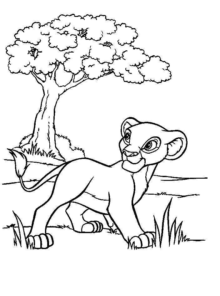 Cartoon Coloring Pages Disney