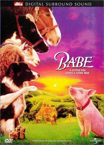 Poster of Babe 1995 720p Hindi BRRip Dual Audio Full Movie Download