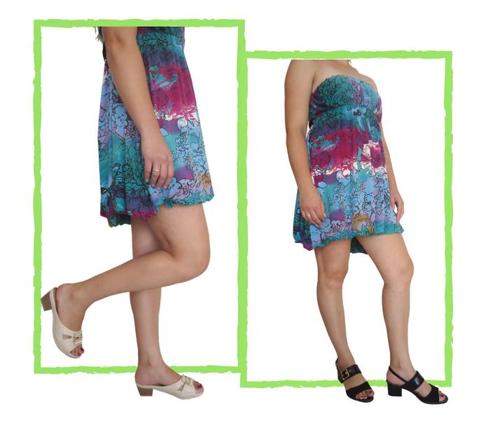 6ac1b9302 Para combinar com esta opção o ideal seria uma sandália rasteirinha com uma  cor neutra ou uma sapatilha com ...