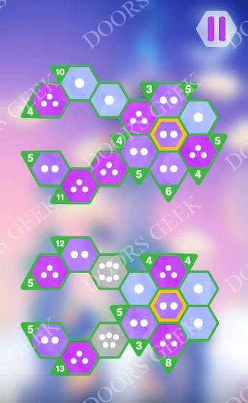Hexologic Level 56 Solution, Cheats, Walkthrough for android, iphone and PC Steam
