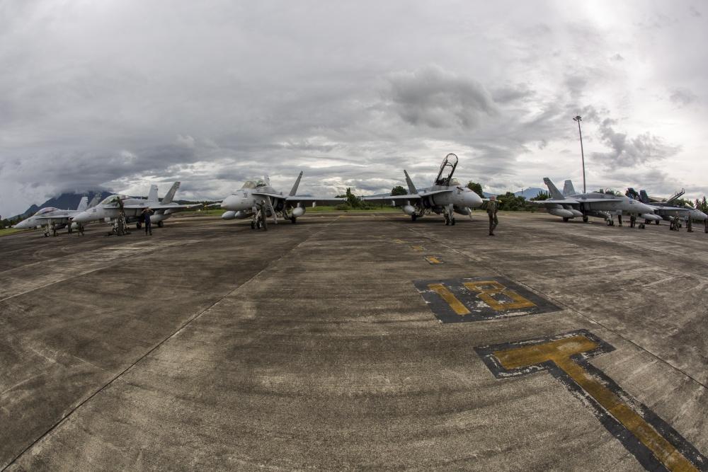 F/A-18D Hornets