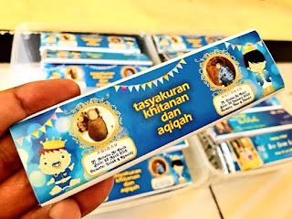 Coklat Kemasan Custom Untuk Tasyakuran