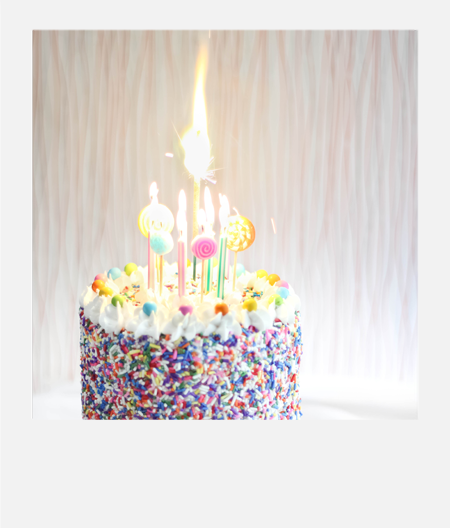 This Years Birthday Cake Definitely Spreads The Sprinkle Love But Its No Ordinary Made From One Of My Favorite Sweets On Planet