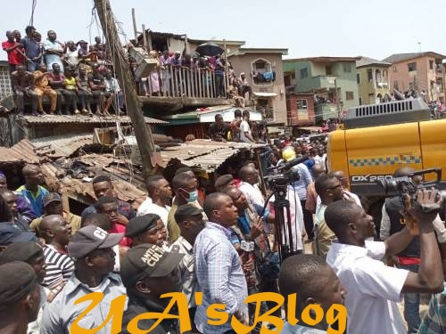Heartbreaking! Woman Kills Herself After Losing Two Children In Lagos Building Collapse