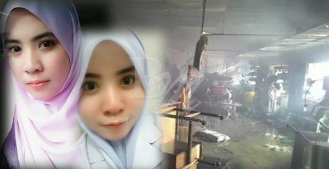 Menangis.. Keadaan Terkini Nurul Ain Nurse Yang Terlibat Dalam Kebakaran Semalam.. Lihat Perubahan Mendadak Pada Wajahnya,, Masha Allah.