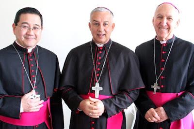 Dom Manoel , toma posse como terceiro bispo da Diocese de Registro-SP