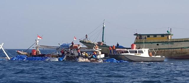Diduga Bocor dan Muatan Lebih, KM Citra Harapan Karam di Teluk Bone