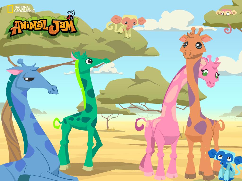 The animal jam aqua meet puffy - Animal jam desktop backgrounds ...